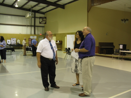Left to Right; Dr. Darrell McDonald, Kelly Shadix, and Dr. Mark Barringer
